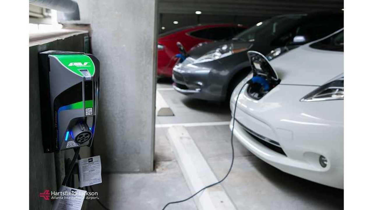 Atlanta Airport Installs 102 TurboDock EV Charging Stations
