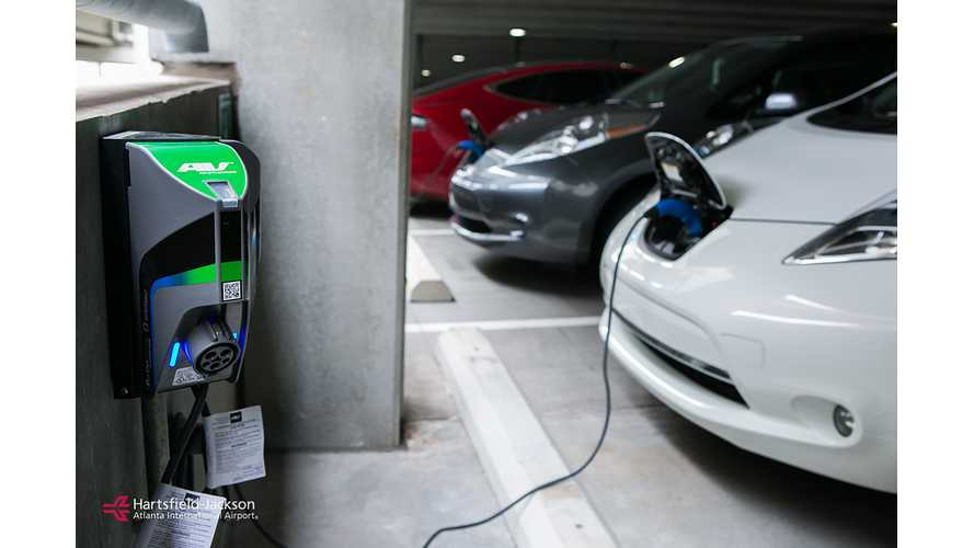 Atlanta Airport Installs 102 TurboDock EV Charging Stations