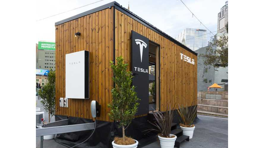 Tesla Tiny House Educates Consumers About Solar & Powerwall