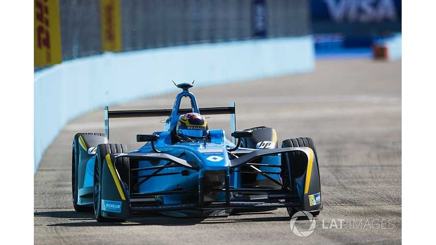 Renault Recreates Montreal Formula E Track In Private Test