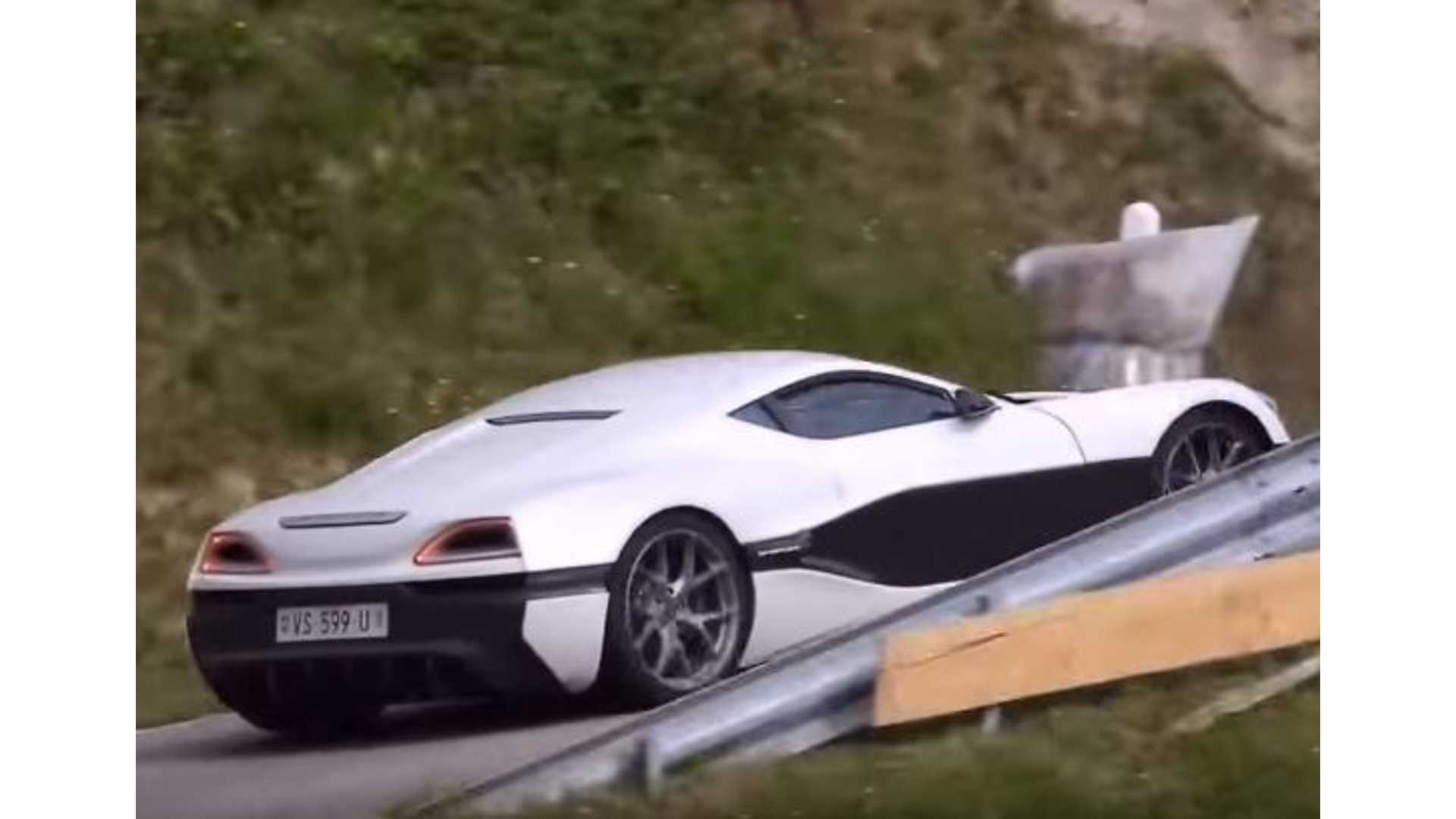 Watch Grand Tour Cast Alps Before Hammond S Rimac Concept One Crash Video Insideevs Photos