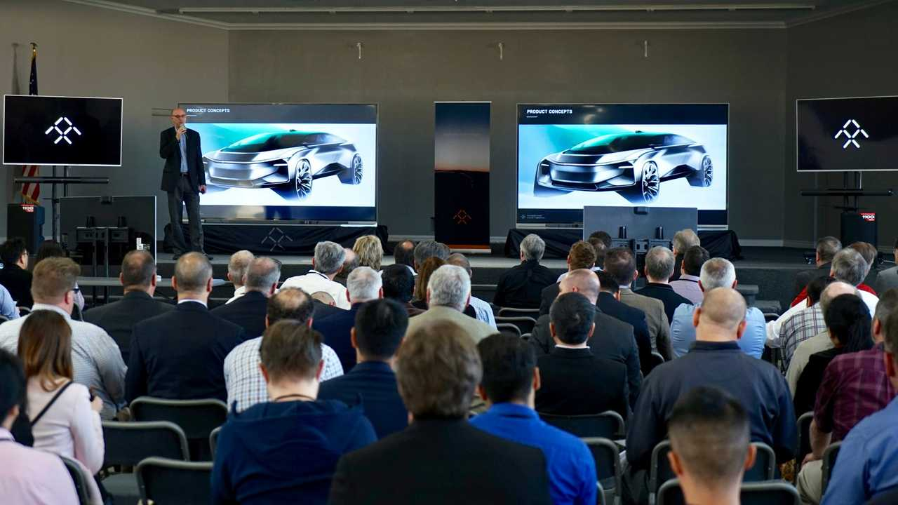 Faraday Future Teases New Concepts