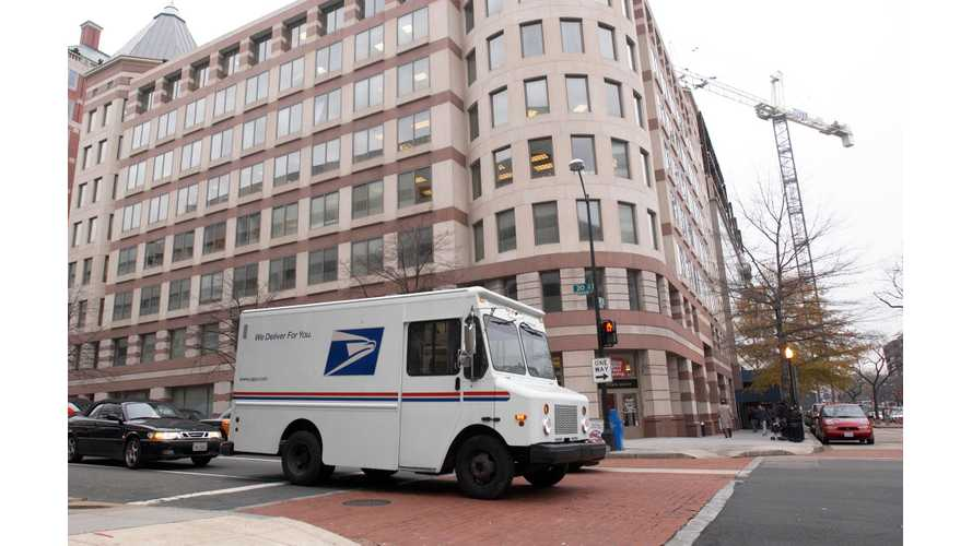 USPS Urged To Go Plug-In For Replacement Of Delivery Vehicles