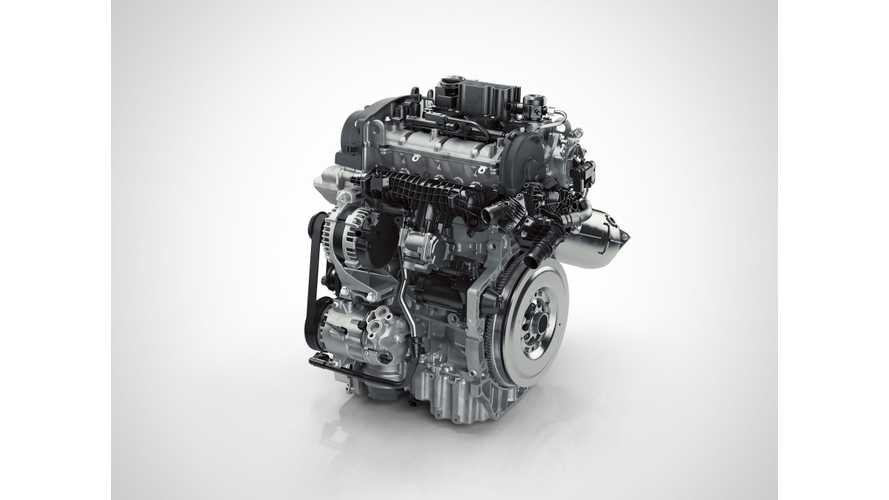 Volvo's New 3-Cylinder Was Designed For PHEVs