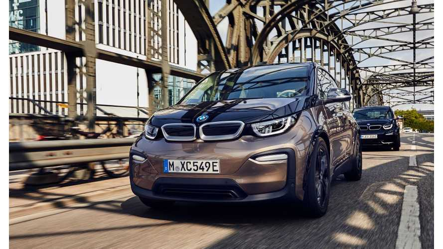 BMW Reveals 2019 i3 & i3s With 42.2 kWh Battery