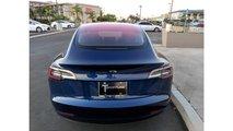 Tesla Model 3 Rear view