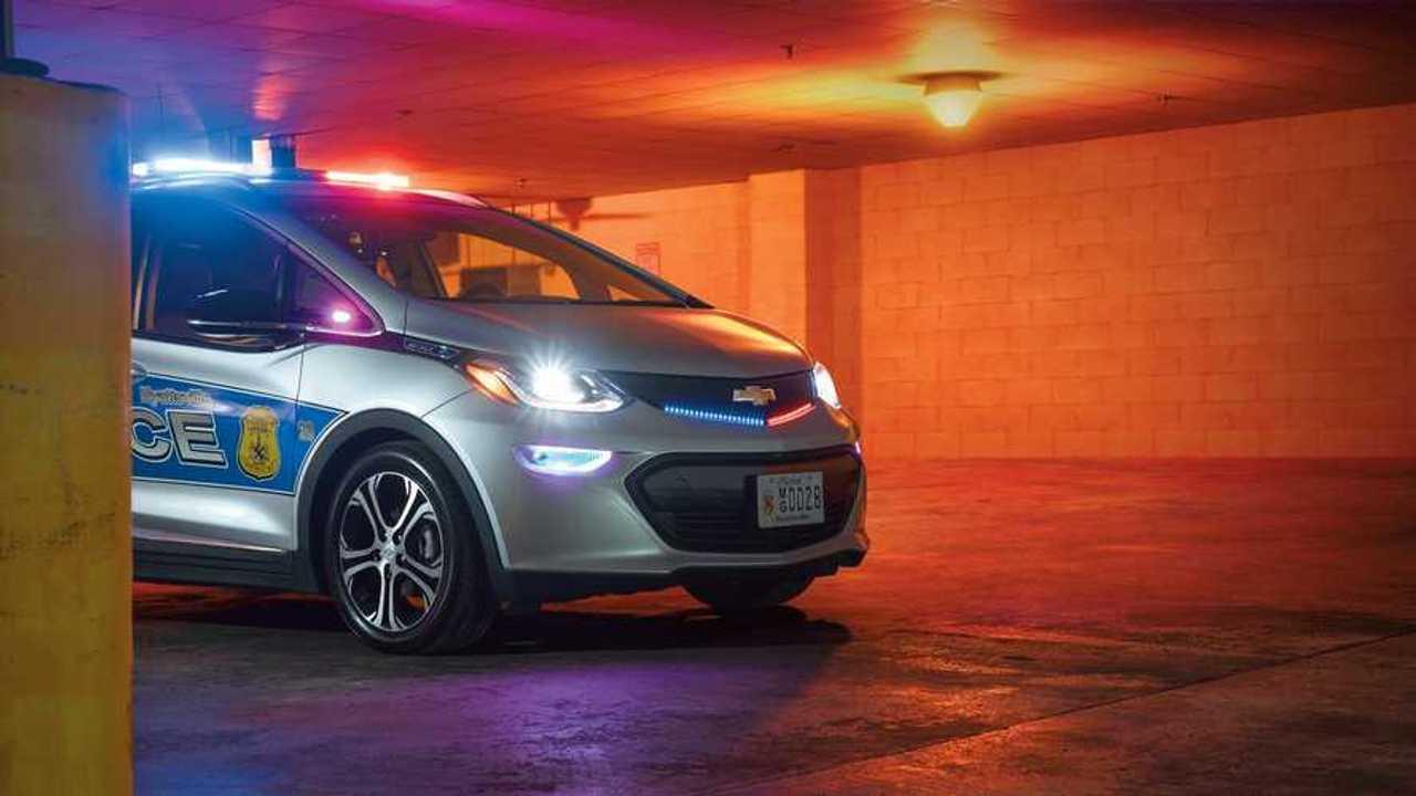 Hyattsville, MD Police Department Sends Chevy Bolt EV On Patrol Duty