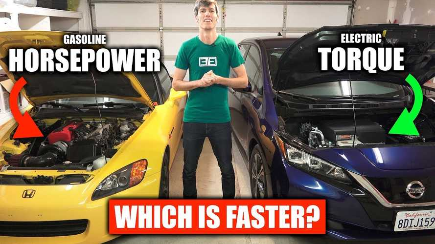 Engineering Explained Dives Into EV Torque Versus Gas HP