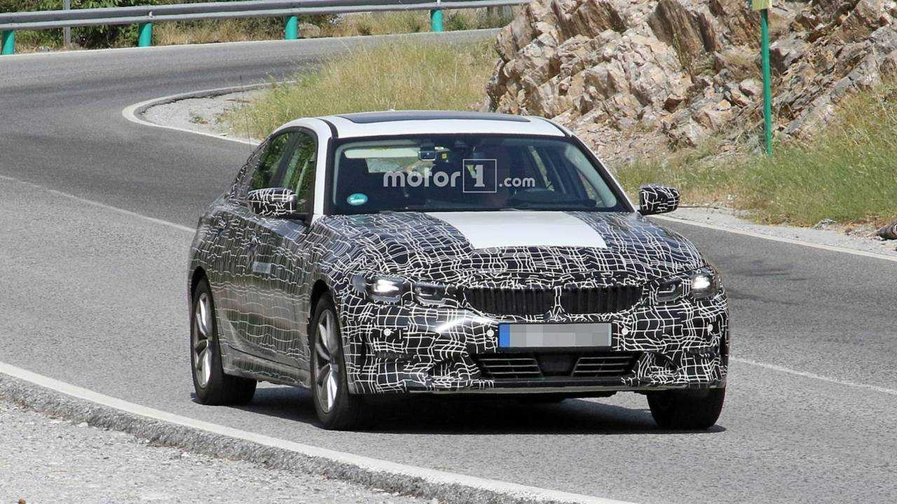Electric BMW 3 Series Spied Sporting Fake Exhaust Tips