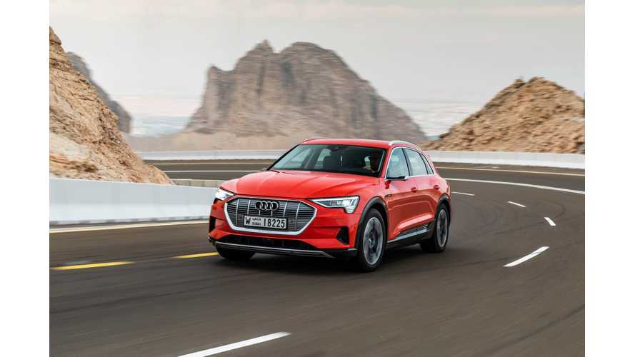 Audi E-Tron Gets Electric Range Rating From CARB