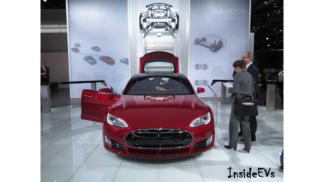 tesla model s naias 2015