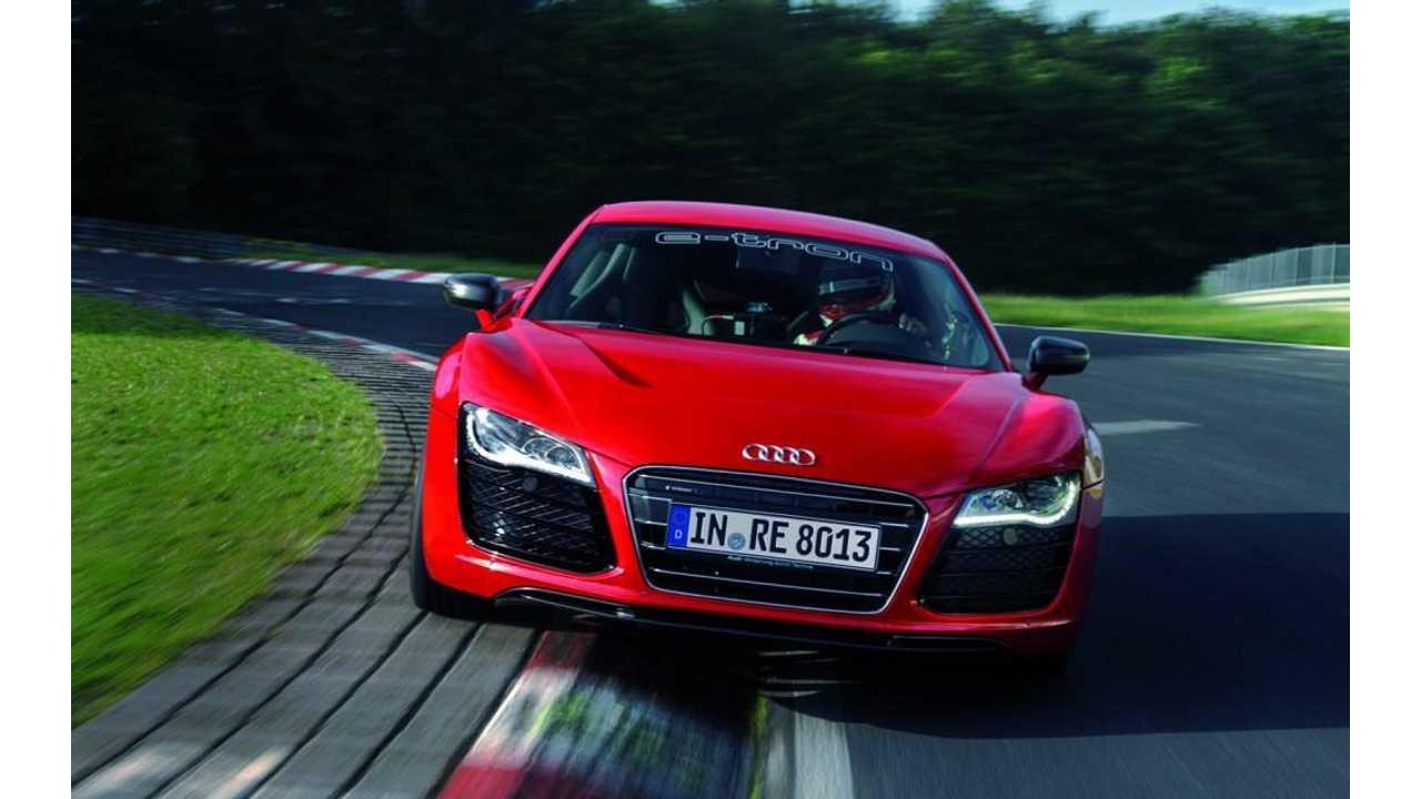 Audi R8 E-tron Production-Bound