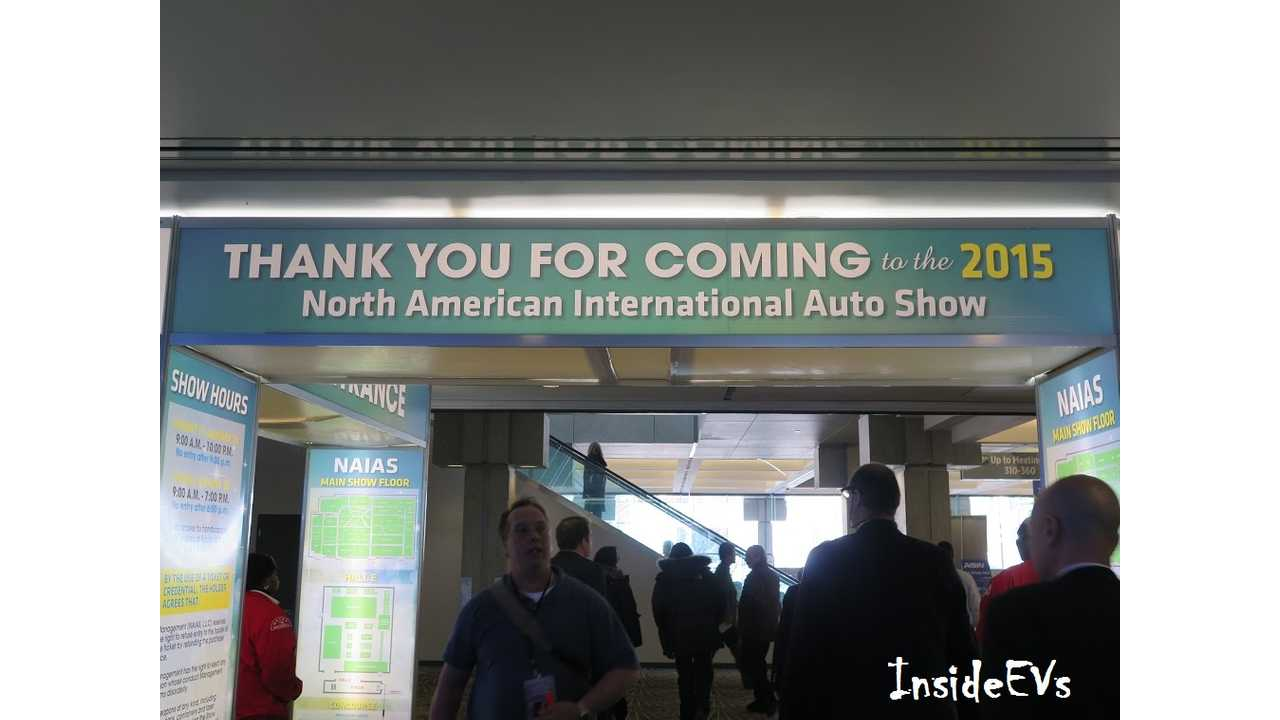 You're Welcome 2015 NAIAS.