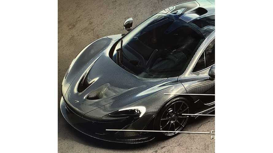 First Glimpse At Carbon Fiber Bodied McLaren P1 - 1 Of Only 20 Ever To Be Made