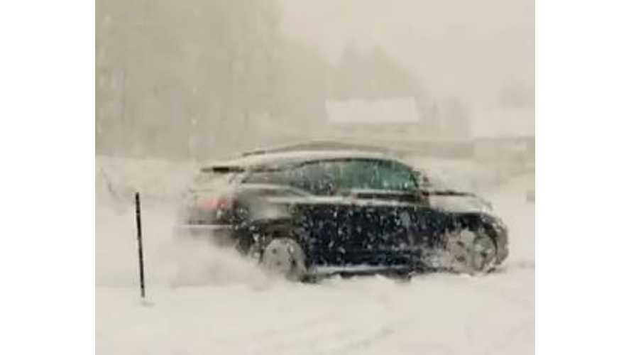 More BMW i3 Drifting In The Snow - Video