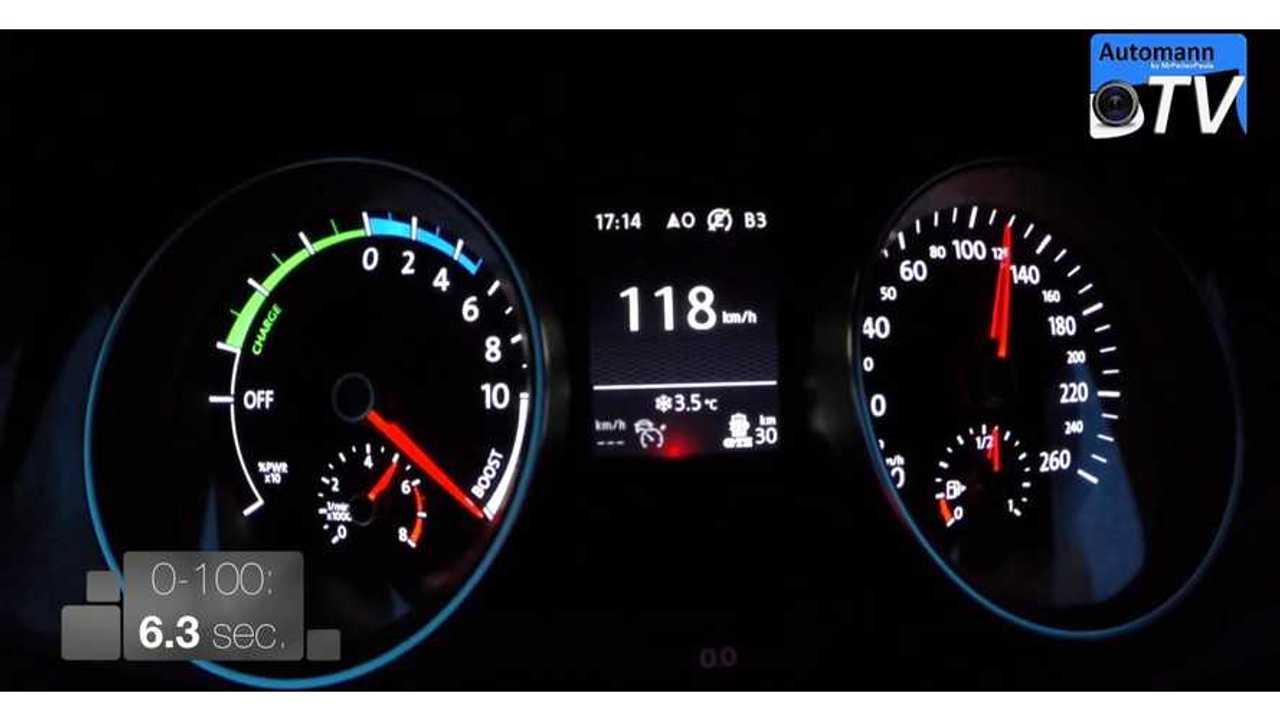 Volkswagen Golf GTE 0-60 Engine & Motor