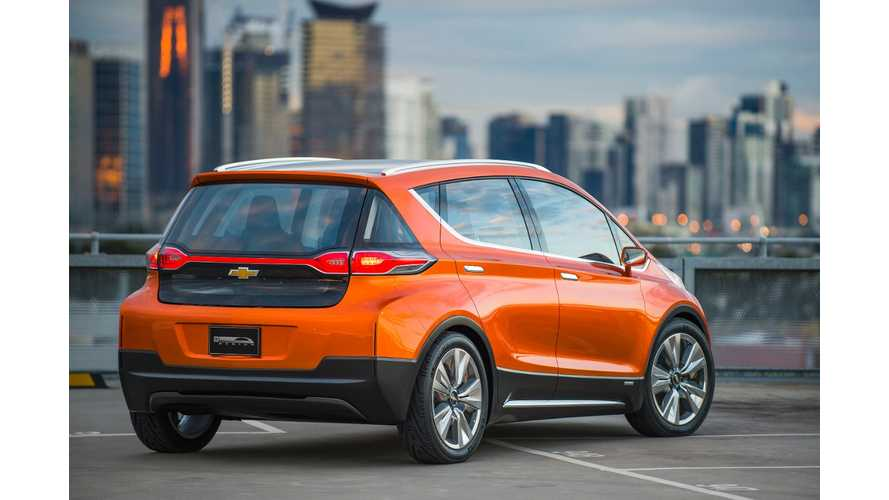Chevrolet Bolt Designed & Conceived In Australia