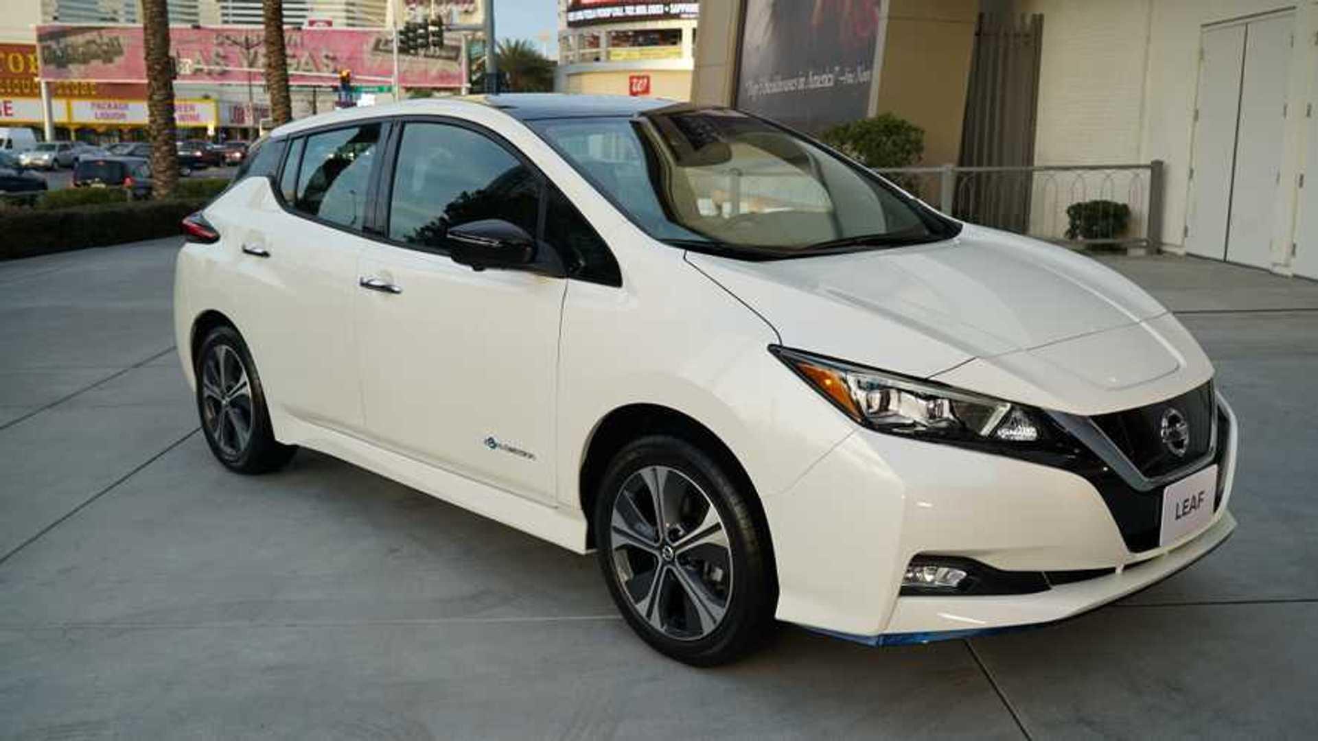 Nissan Reveals Leaf E Plus 62 Kwh Battery 226 Mile Range