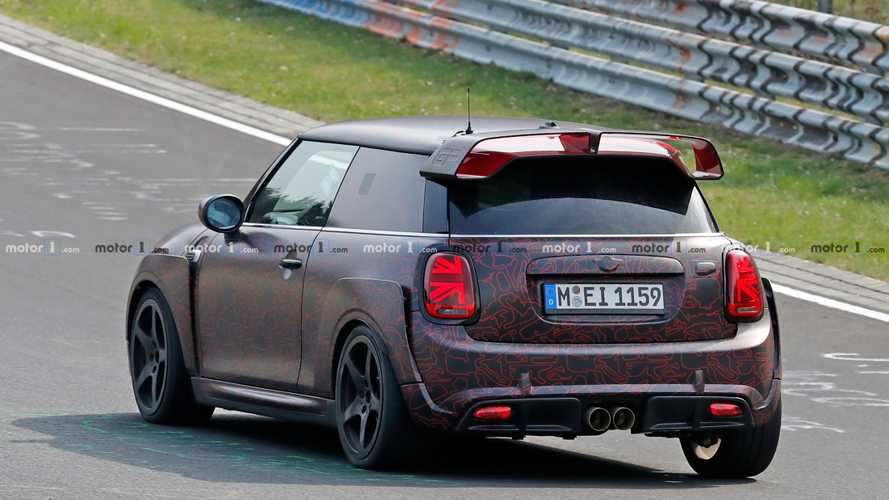 MINI John Cooper Works GP 2020, fotos espía en Nürburgring
