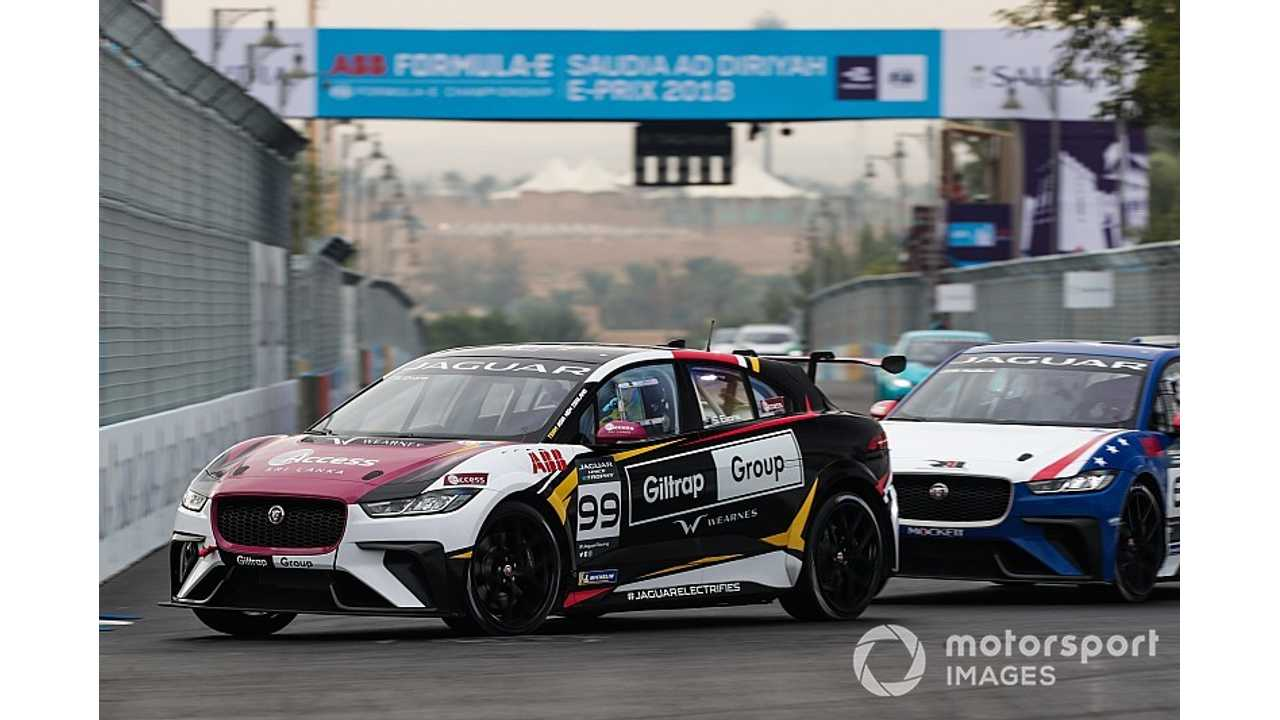 Watch Jaguar I-Pace eTrophy Race #1 Right Here