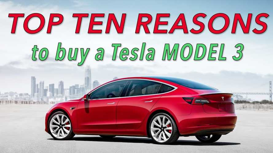 Top 10 Reasons To Do Everything You Can To Buy A Tesla Model 3: Video