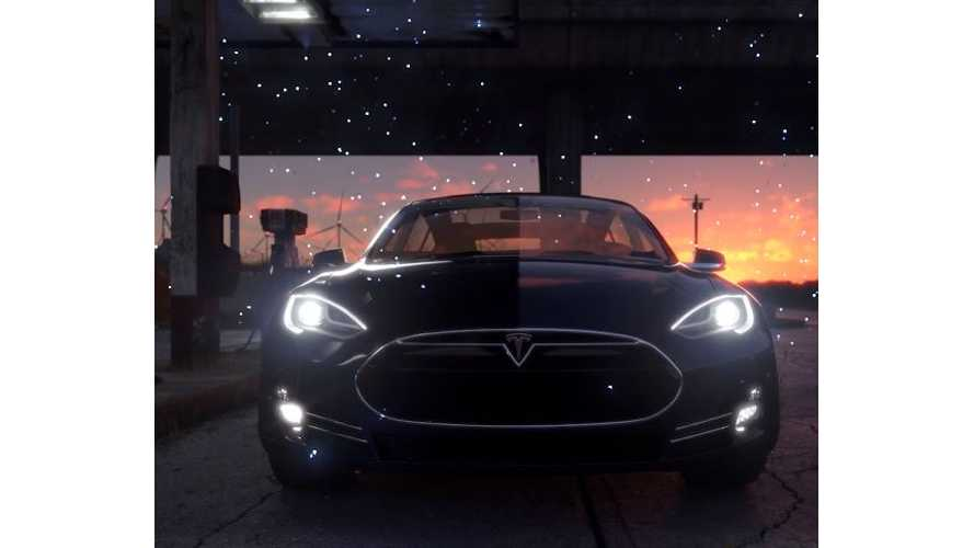 Fan-Made Tesla Fireflies Video Is Spectacular!
