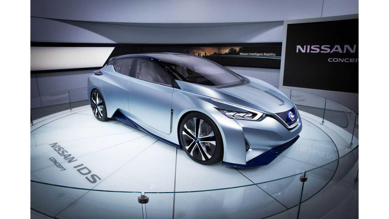 Nissan IDS At North American International Auto Show - Photos & Videos