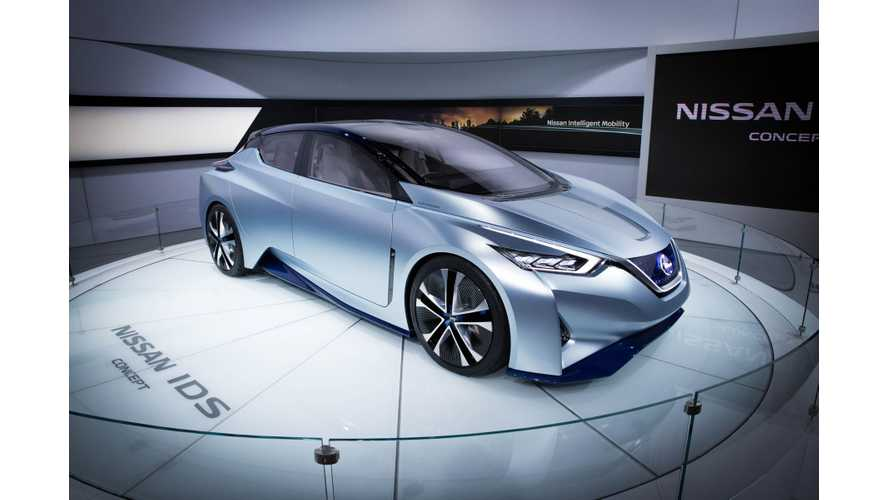 Nissan IDS At North American International Auto Show - Photos & Videos