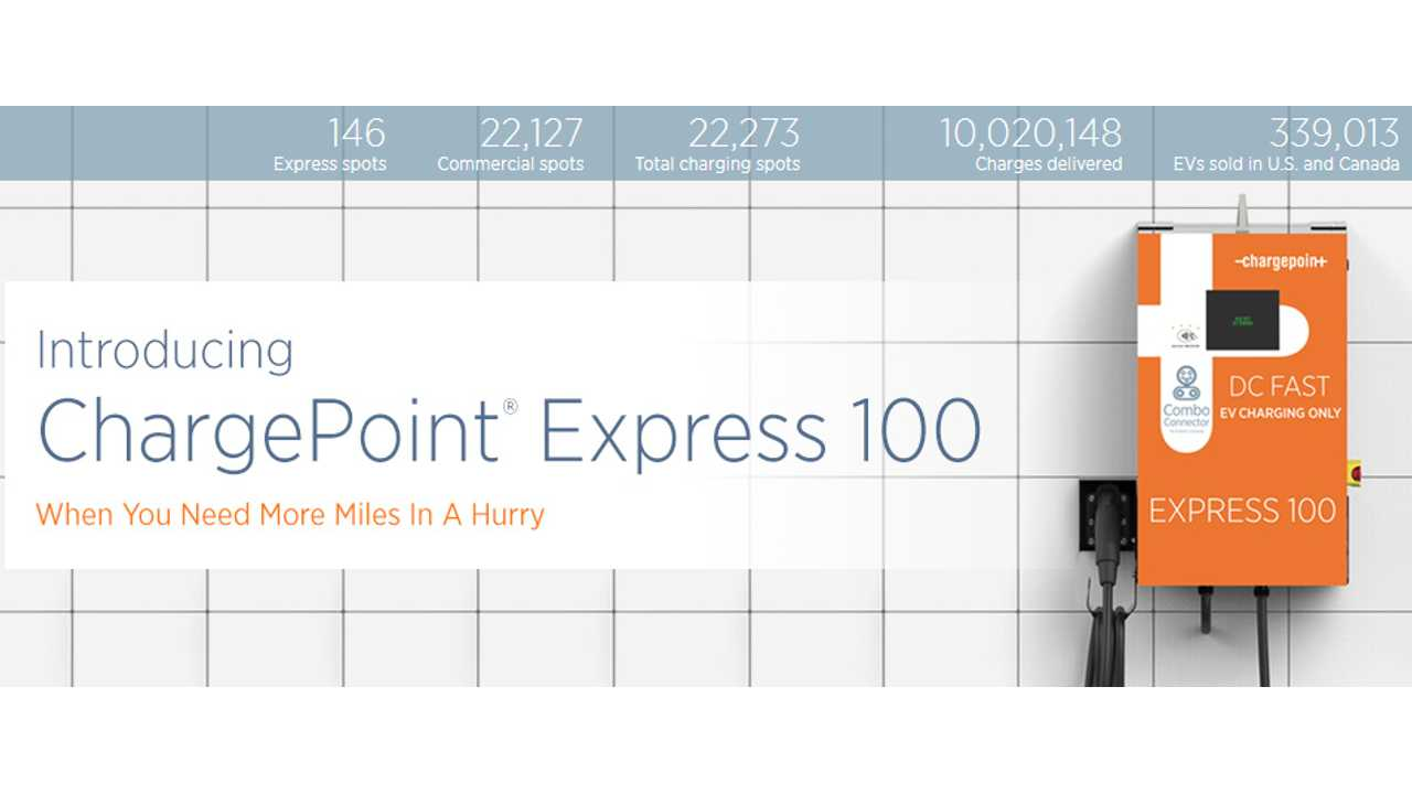 10,000,000 Charges Delivered By ChargePoint