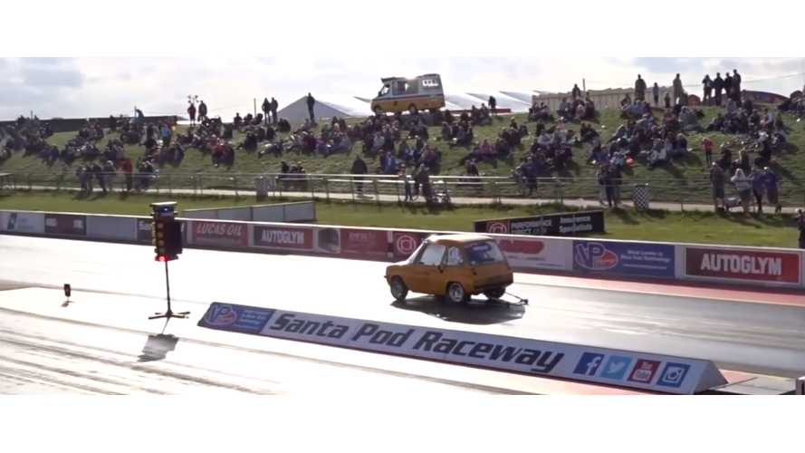 Flux Capacitor Hits The Track - Video
