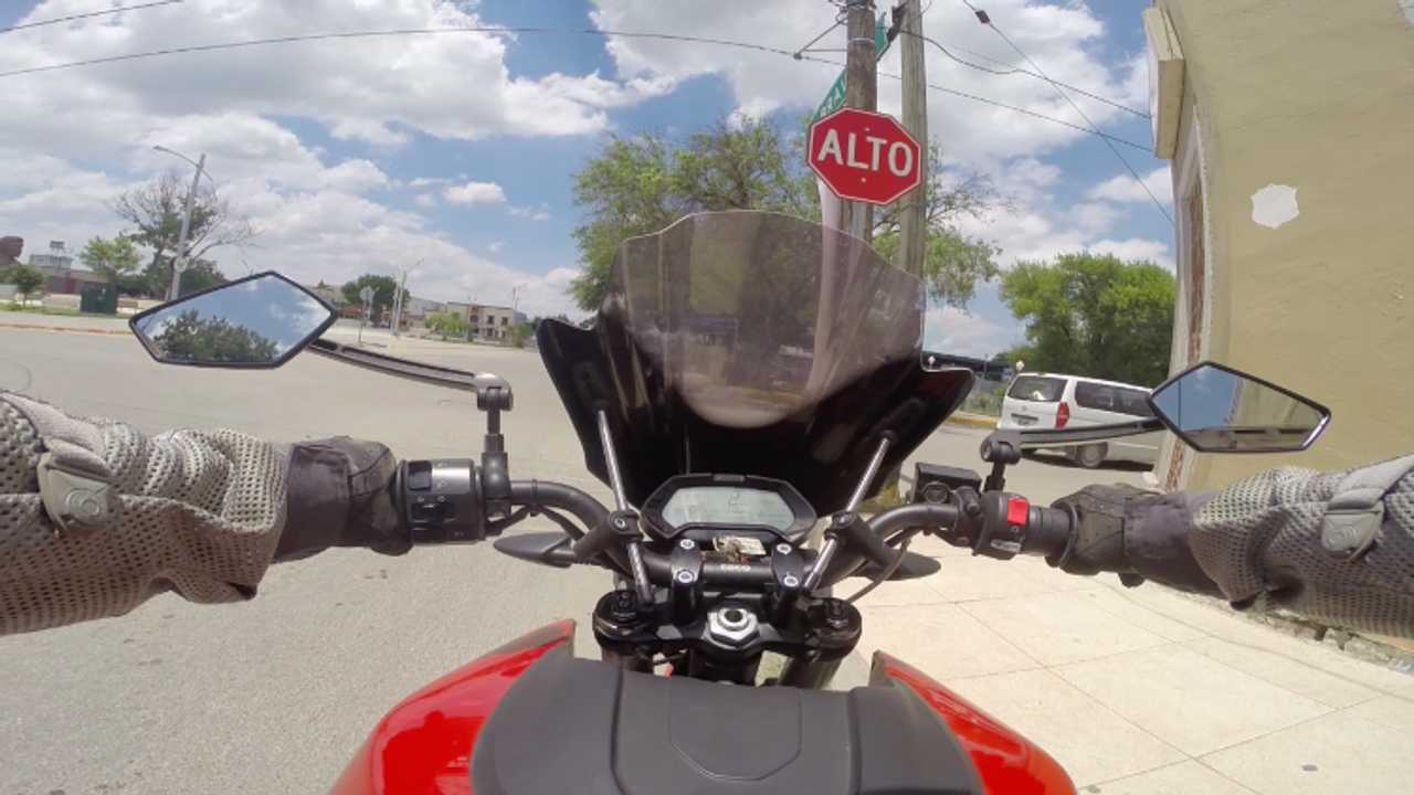 Three Country Tour on an Electric Motorcycle - Mexico