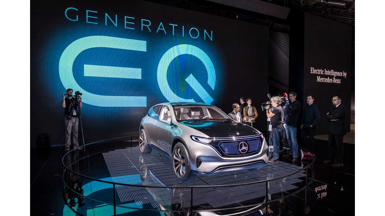 Mercedes-Benz Generation EQ - Photos & Videos From Paris