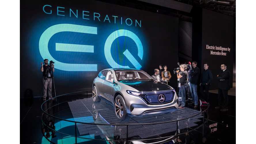 Mercedes-Benz Generation EQ - Photos & Videos From Paris