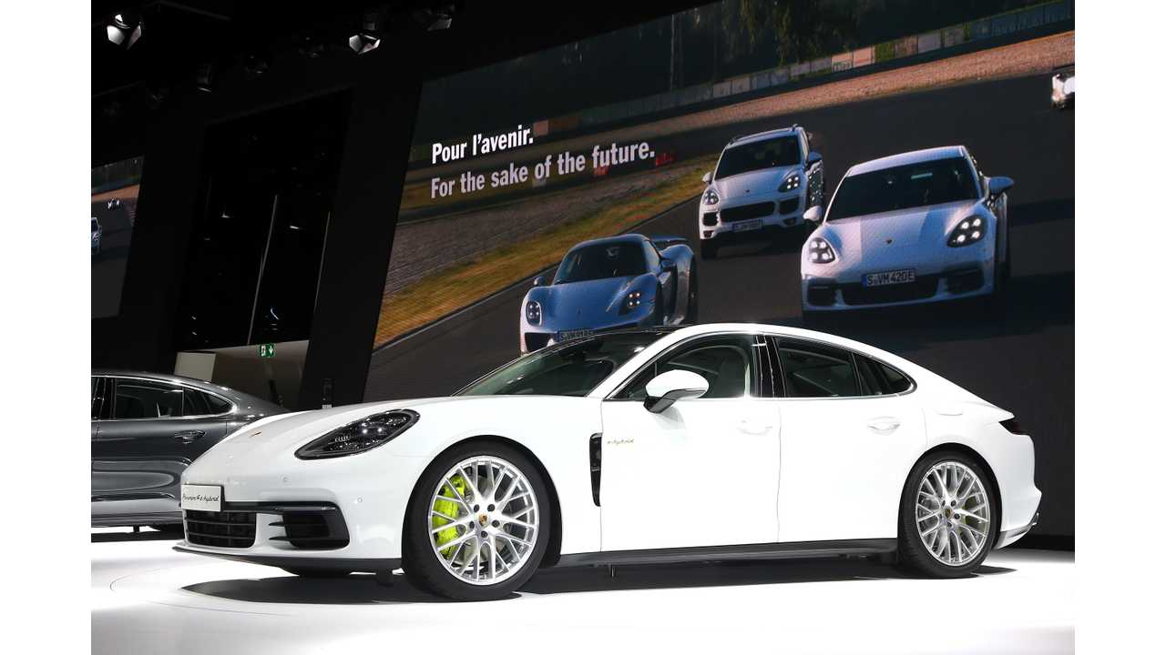 The Evolution Of The Porsche Panamera Plug-In E-Hybrid