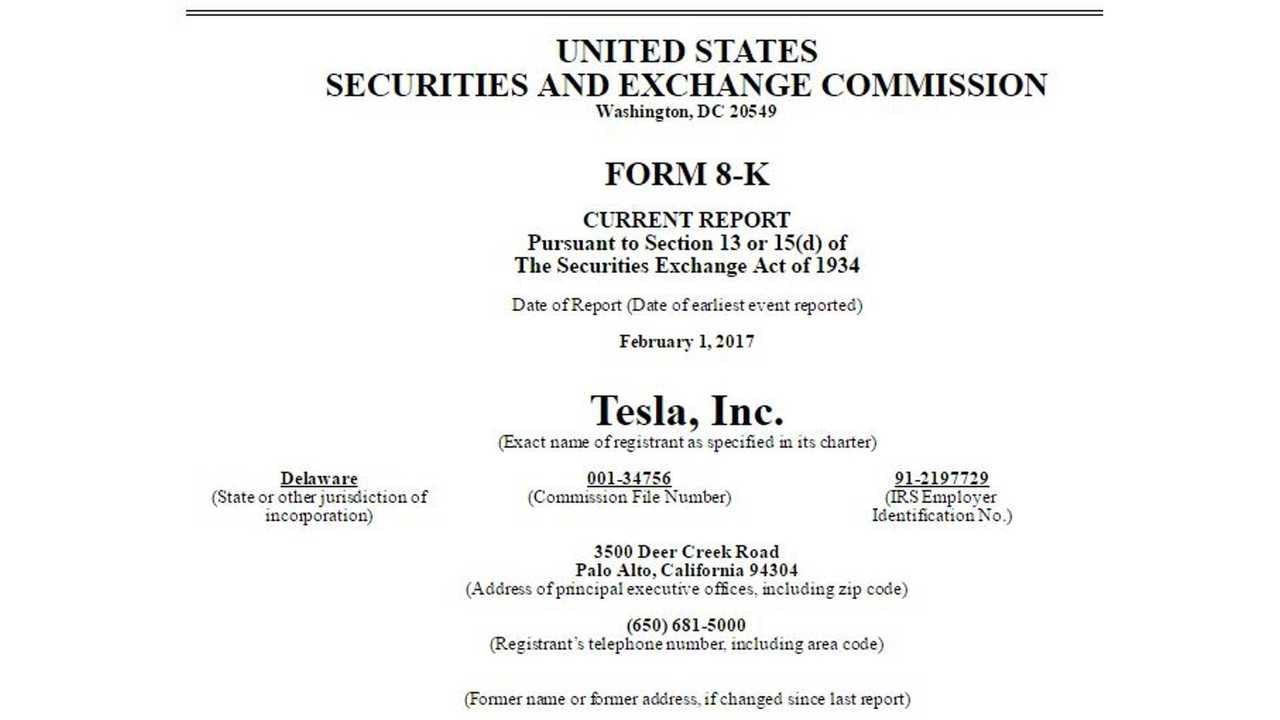 Newsflash: Tesla Motors Changes Name To Tesla, Inc.