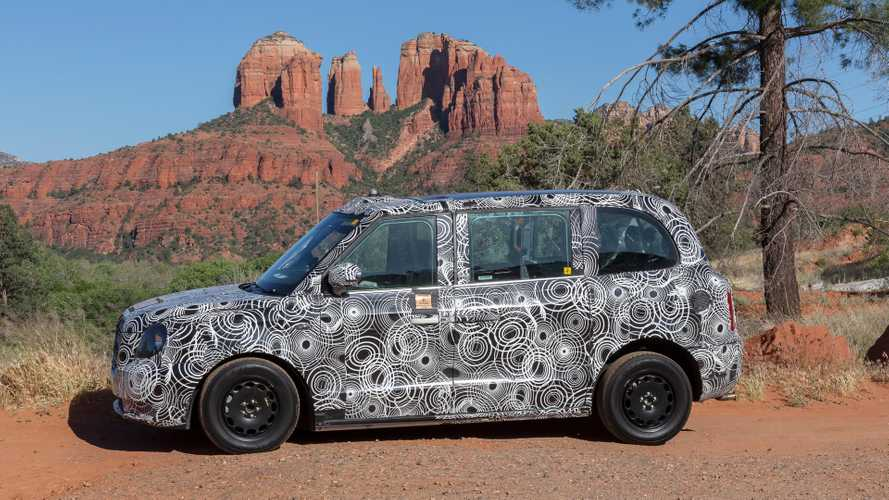 Electric London Taxi Conducted Hot Weather Testing In Arizona