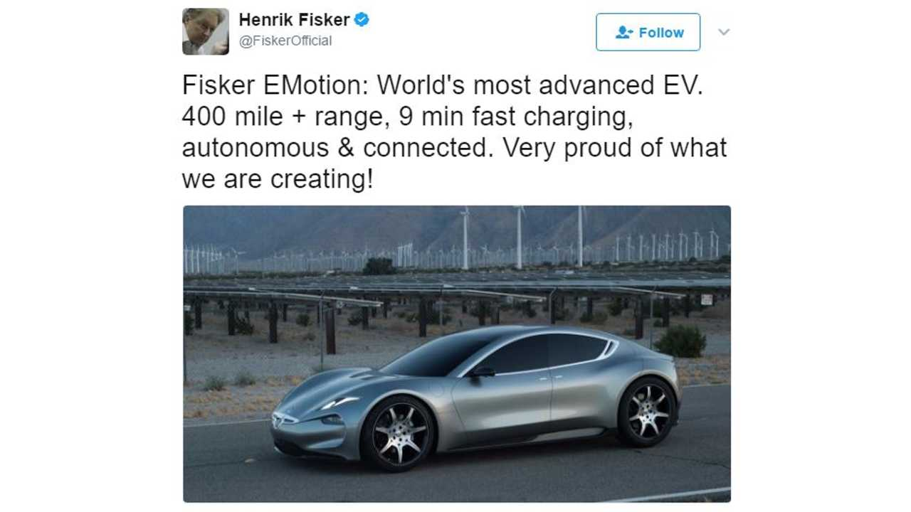 Fisker eMotion Fully Revealed