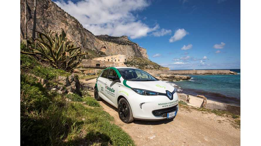 Italy Targets 1 Million Electric Cars On Roads By 2022