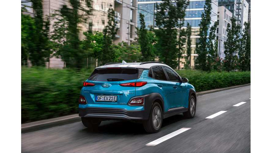 Hyundai Plug-In Electric Car Sales Continue At Record Pace