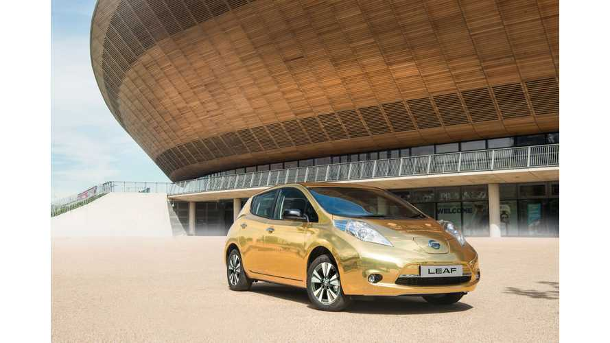 Nissan To Giveaway Golden LEAFs To Its Athlete Ambassadors Who Win Gold At The Rio
