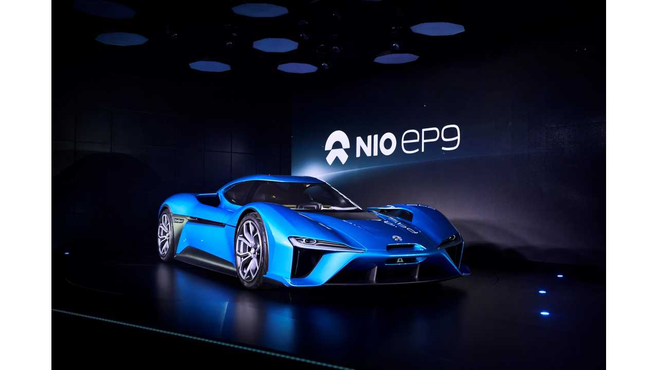 NextEV Launches NIO Brand and World's Fastest EV, 0-124 mph in 7.1 Seconds, 194 mph Top Speed - videos