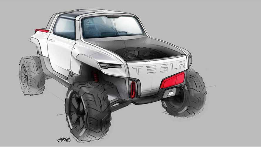 Design Grad Renders Tesla Allterrain Truck Concept