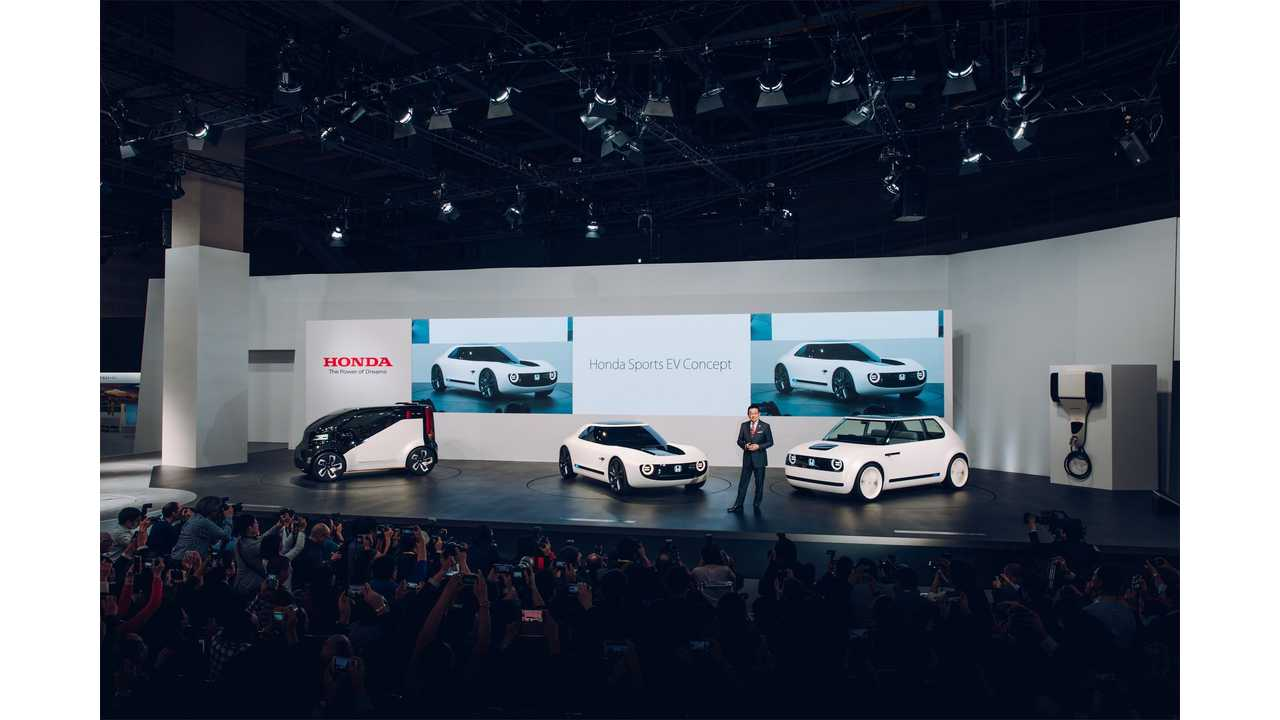 Honda Says It Will Launch An EV In 2022 That Charges In Just 15 Minutes