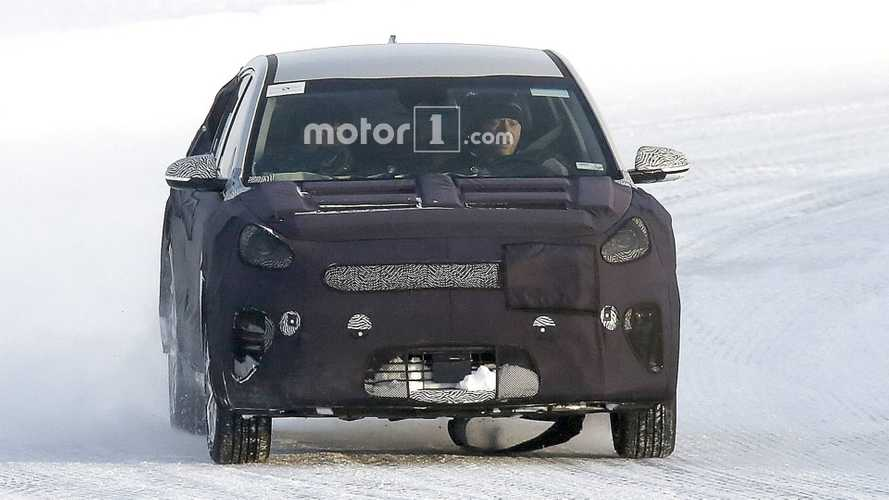 Kia Niro EV Spied Winter Testing