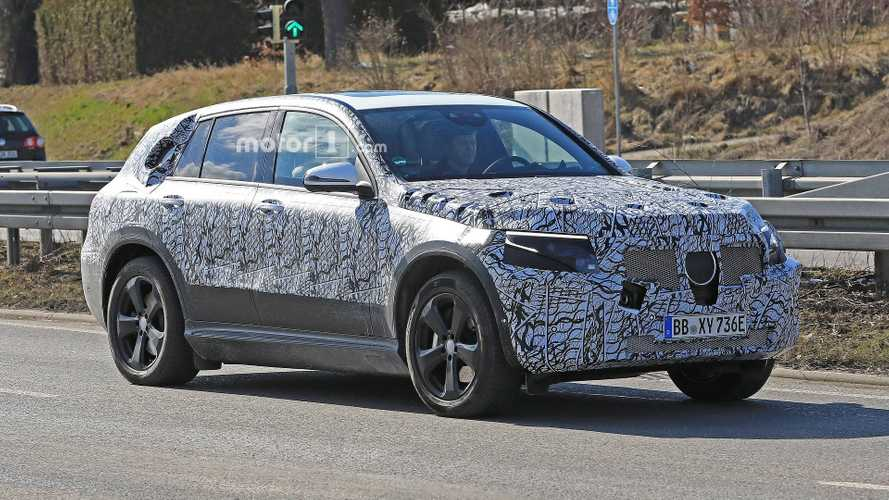Mercedes-Benz EQ C Spied Testing In Warm Climate