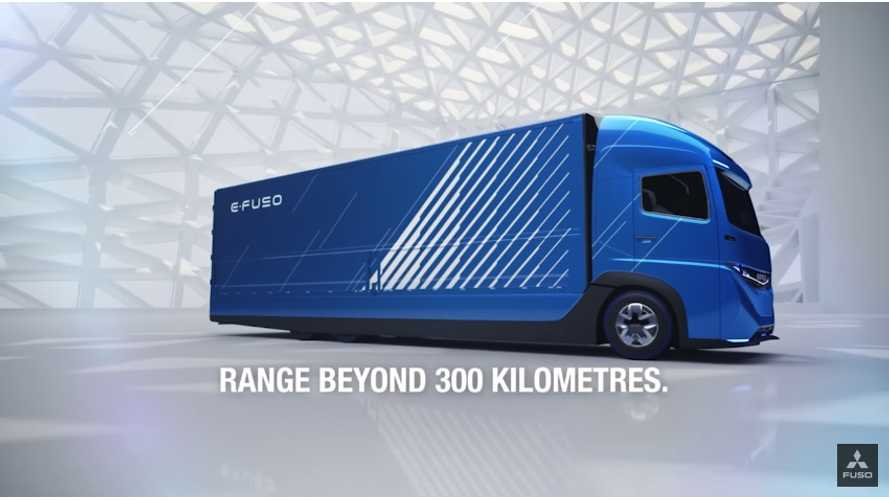 The E-FUSO Vision One Electric Truck - More Than Just A Concept (video)