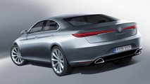 Next-gen Alfa Romeo Giulia rendering