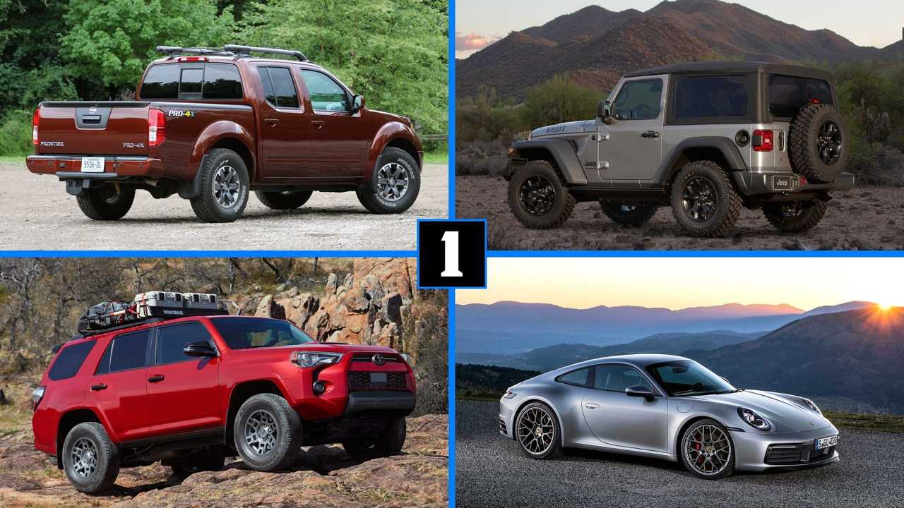 These 10 Vehicles Depreciate The Least Over Five Years