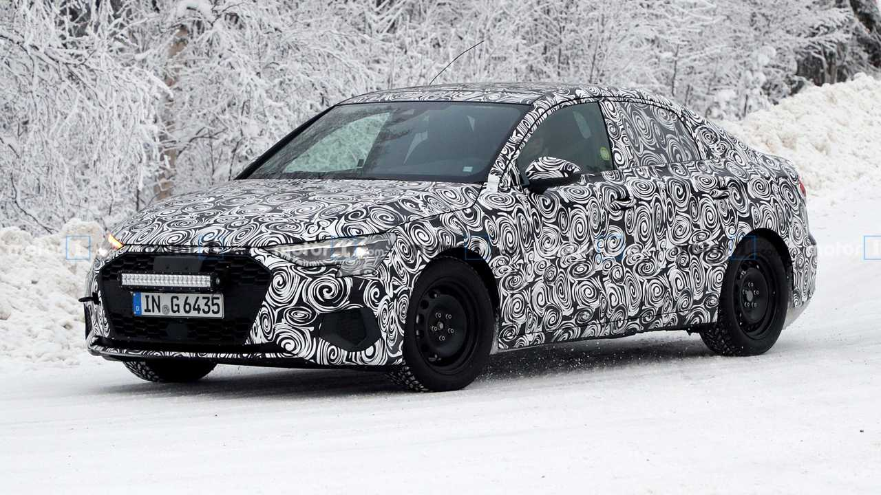 2021 Audi A3 Sedan spy photo