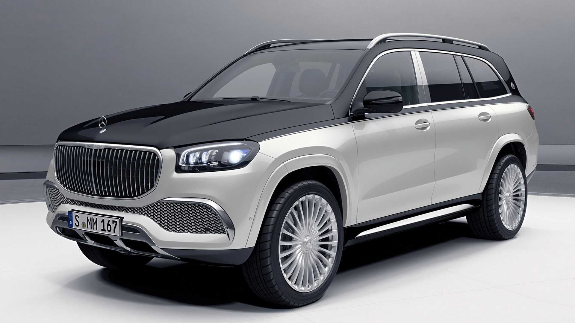 Mercedes Maybach Gls Revealed As Opulent Suv With 4 Or 5 Seats